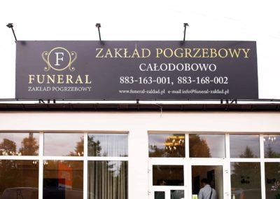 Siedziba zakładu pogrzebowego Funeral