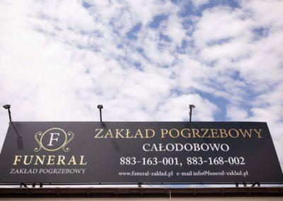 Siedziba zakład pogrzebowy Funeral w Pułtusku